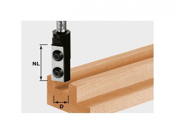 Nutfräser-Wendeplatten HW S8 D10/25 WP Z1