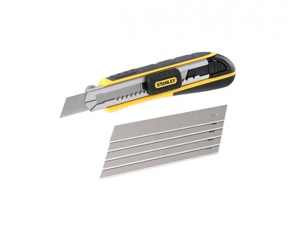 Cutter Fatmax mit 18 mm Klinge | inkl. 6 Abbrechklingen im Magazin