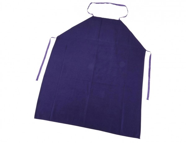 Arbeitsschürze mit Brusttasche | verschiedene Farben | 100 % Baumwolle