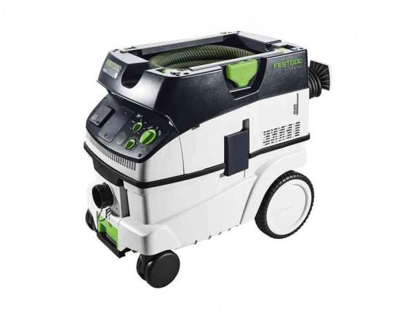 Absaugmobil Cleantec CTM 26 E mit dem neuen, glatten Saugschlauch