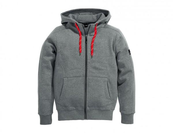 Sweater-Jacke BENNO mit Kapuze   körperbetonte Passform