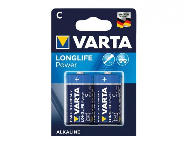 Batterie Longlife Power Baby C 1,5V LR 14 | 2er Pack